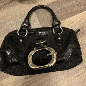 GUESS BIG G LOGO FRONT SMALL PURSE BAG